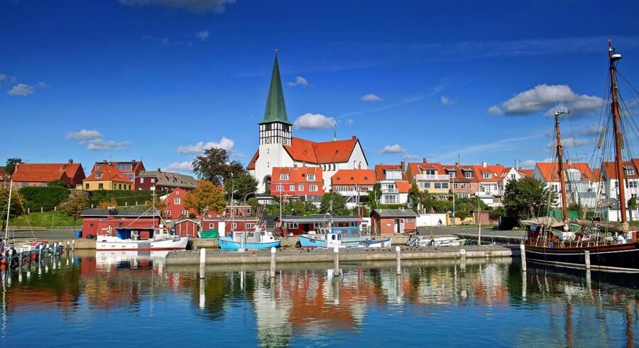 Mens det meste af Danmark står til at få skyet og regnende vejr i weekenden, ser Bornholm, ikke overraskende, ud til at få solskin.