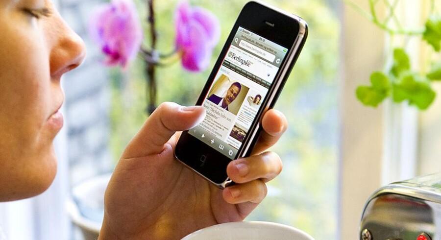 Mobiltelefoner skal i dag kunne meget mere end blot at ringe. Foto: Søren Bidstrup, Scanpix