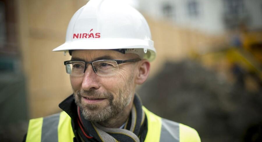 Niras og ders direktør Carsten Toft Boesen, adm. dir på Strandvejen i Hellerup