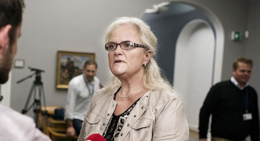 Formanden for Folketingets sundhedsudvalg, Liselott Blixt (DF).