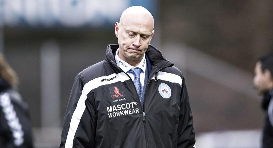 Silkeborgs cheftræner Peter Sørensen.