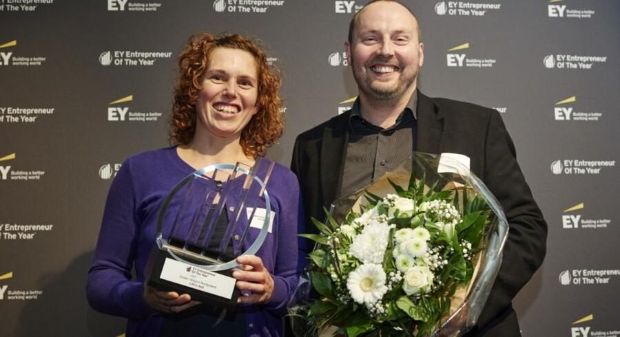 Maria Vinther Fenger og Per Eske Fenger, grundlægger af Liftra