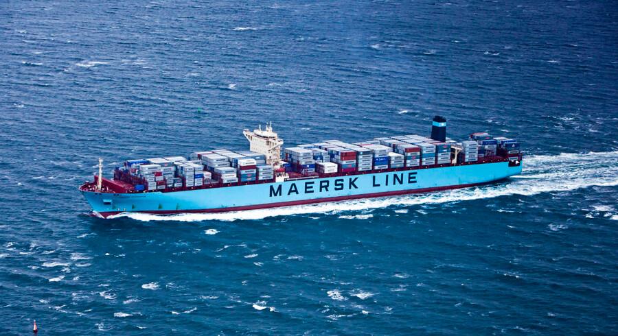 Maersk Line har fået grønt lys fra EU til opkøbet af den tyske konkurrent Hamburg Süd. (Foto: Asger Ladefoged/Scanpix 2013)