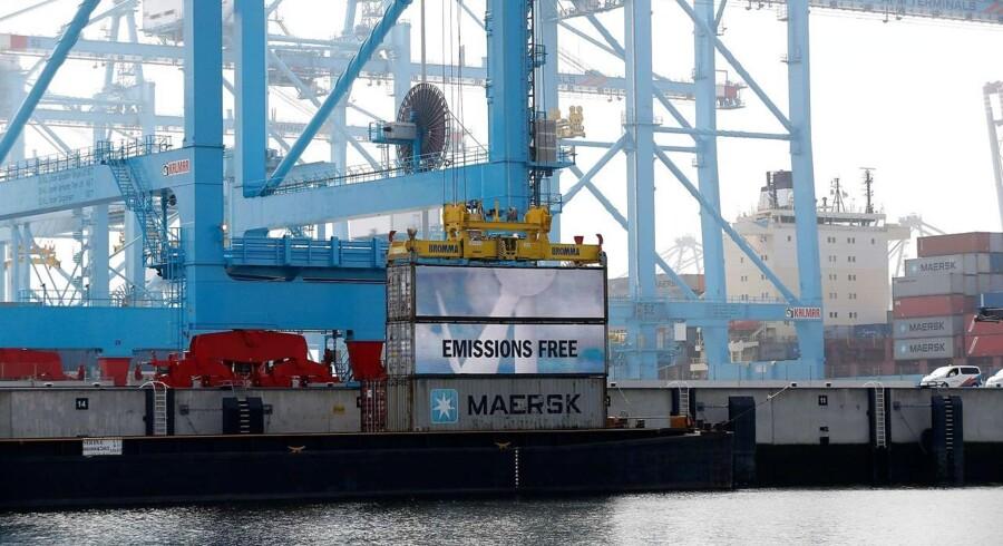 Arkivfoto. Mærsk-koncernens havneselskab, APM Terminals, har ansat en ny finansdirektør. Stillingen er gået til hollandske Katja Otten.