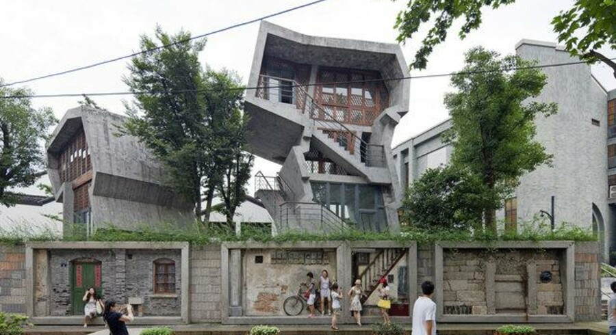 Zhongshan Road renoveringsprojekt, Hangzhou, 2009.