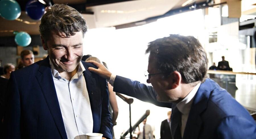 Administrerende direktør og medstifter af Netcompany André Rogaczewski har megat at smile af i dag. Han har netop solgt ud af sine Netcompany-aktier for i alt 263.363.910 kroner. Foto Ritzau Scanpix/Philip Davali