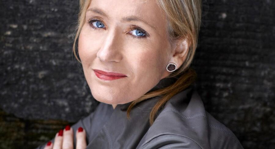 Forfatter J.K.Rowling. Foto: PR