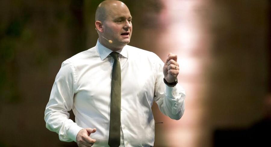 De Konservative holder landsråd i Herning. Søren Pape Poulsen taler til landsrådet.