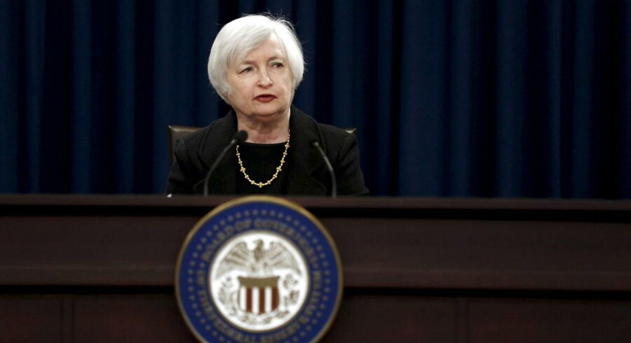 Federal Reserve formandm Janet Yellen.