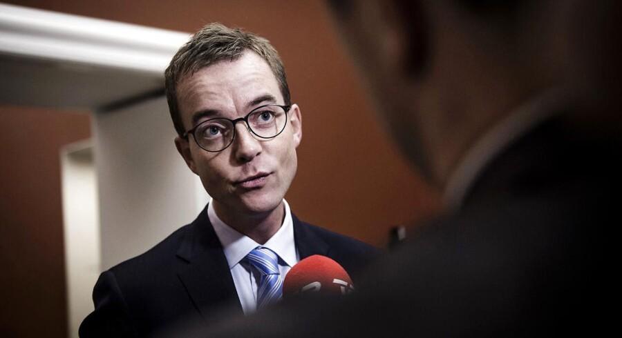 Arkivfoto: Uddannelses- og forskningsminister Esben lunde Larsen