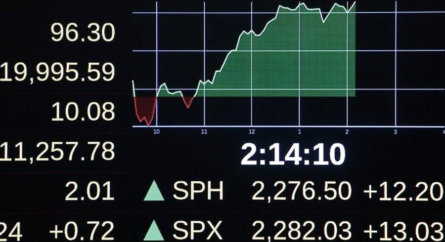 Arkivfoto. Onsdag var en af regnskabssæsonens helt tunge dage med regnskaber fra fire C20-selskaber - og det var da også udsving i netop de aktier, der prægede handlen dagen igennem.