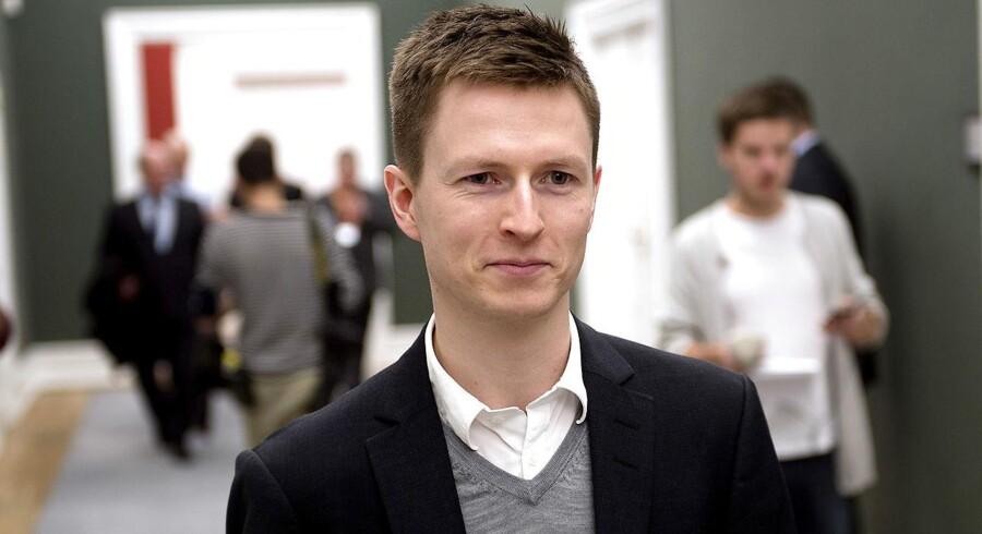 S katteordfører Jesper Petersen. (Foto: Keld Navntoft/Scanpix 2016)
