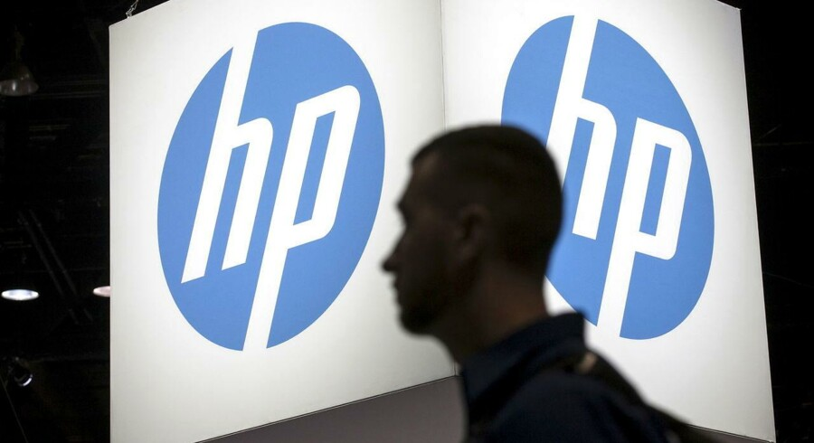 Printer- og PC-salget går ikke længere så godt, og det koster nu op til 4.000 ekstra HP-medarbejdere stillingen. Arkivfoto: Jim Young, Reuters/Scanpix