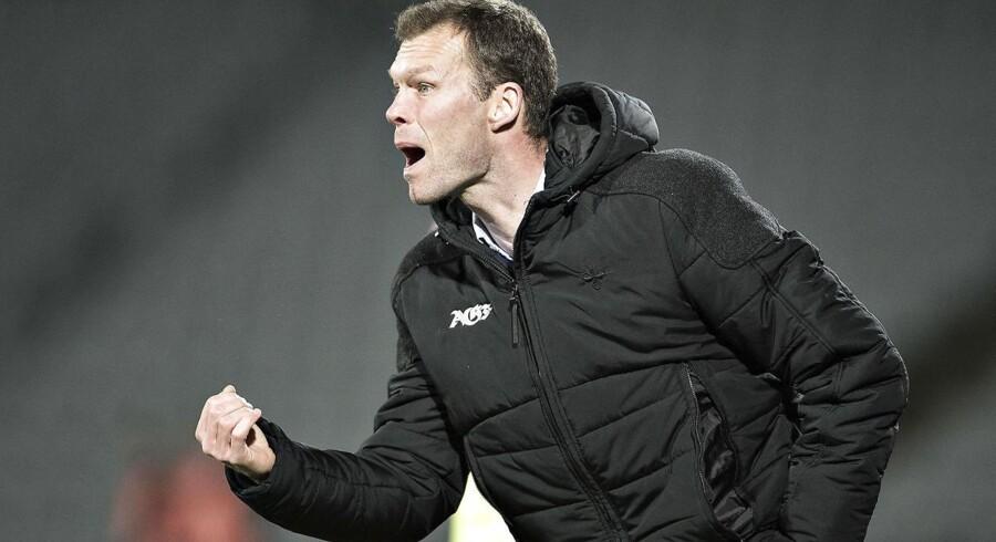 Fodboldklubben AaB ansætter Morten Wieghorst som ny cheftræner på en kontrakt, der løber frem til sommeren 2019.Se RB kl.08.50 d.02.01.2017 Efter en længere periode med utilfredsstillende resultater har AGF d.d. valgt at ophæve samarbejdet med cheftræner Morten Wieghorst, meddeler AGF... AGF - FC Midtjylland , Alka Superliga, Ceres Park, Aarhus: AGFs cheftræner Morten Wieghorst. (Foto: Henning Bagger/Scanpix 2017)