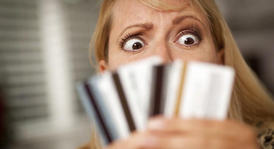 Ikano Bank vil kapre kunder med et nyt »samlelån«, som ifølge den svenskejede bank kan spare danskere med klatgæld for mange tusinde kroner. (Modelfoto: Iris)