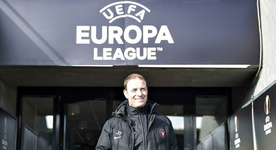 FC Midtjyllands træner, Jess Thorup, er stolt af sit hold, efter det torsdag besejrede Manchester United.