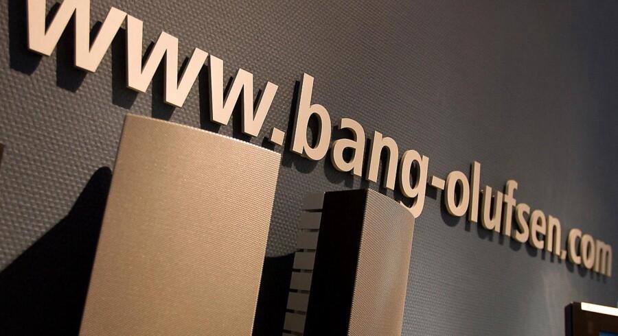 Aktierne i Bang & Olufsen tog kursraketten i fredagens handel efter offentliggørelsen af et overraskende godt regnskab for andet kvartal. (Arkivfoto: Henning Bagger/Scanpix 2016)