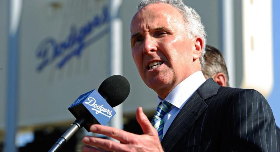 Den amerikanske rigmand, Frank McCourt, ejer blandt andet Los Angeles Dodgers