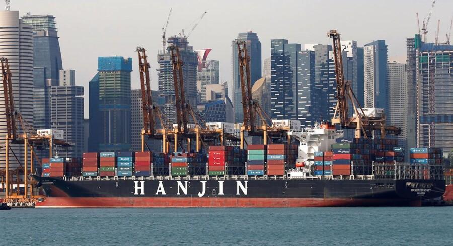 I Korea kan op mod 12.000 arbejdspladser gå tabt på grund af Hanjins konkurs, vurderer Korea Maritime Institute ifølge Wall Street Journal.