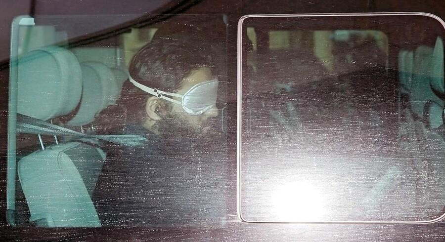 Bag lås og slå. Den radikale imam Abu Walaa, der inspirerede berlinangriberen Anis Amri, blev anholdt i november 2016 (billedet). Nu han er blevet tiltalt for at stå bag islamistisk terrornetværk.