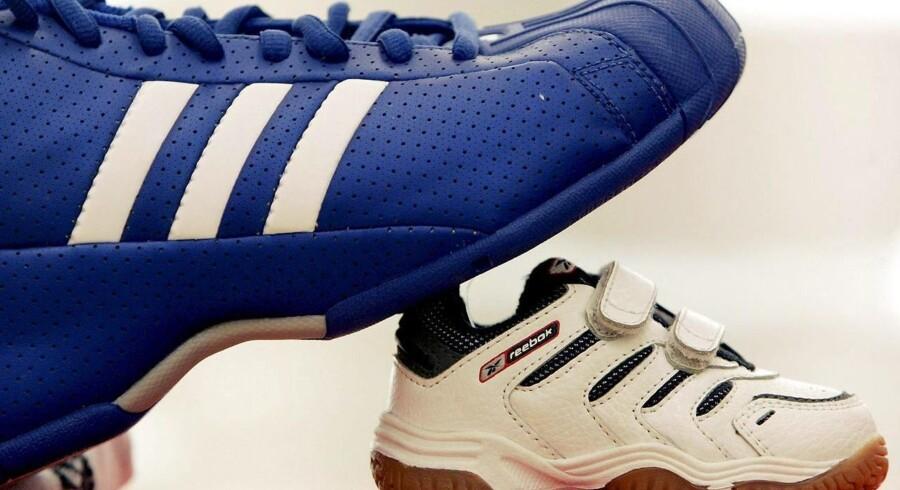 Adidas købte Reebok tilbage i 2005, men Reebok er en lille sten i Adidas-skoen.