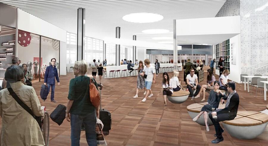 Københavns Lufthavn får 25 nyt butikker og spisesteder med udvidelsen til sommer.