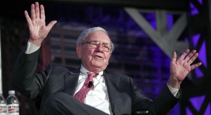 Rigmanden Warren Buffet har haft den store pengepung fremme og foretaget et gigantisk opkøb.