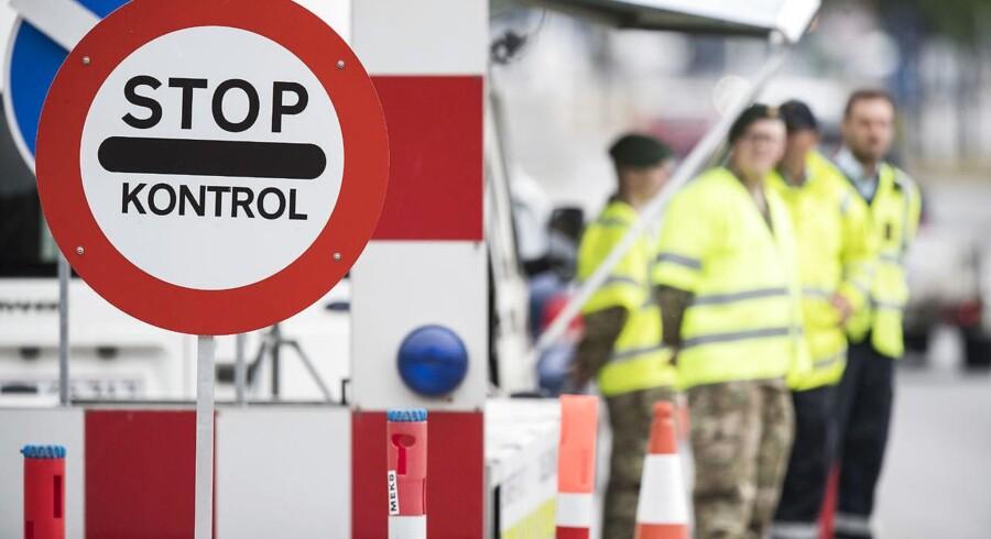 Dansk Folkeparti vil udvide grænsekontrol, mens Alternativet mener, at det er for ressourcekrævende. Foto: Claus Fisker/Scanpix 2016.
