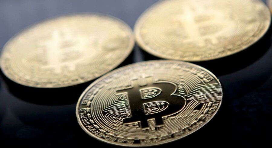 Bitcoin  / AFP PHOTO / Justin TALLIS