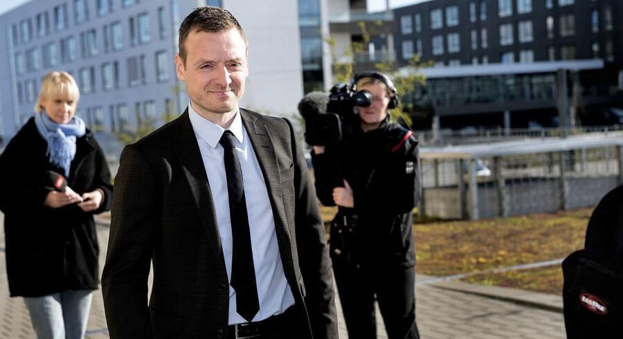 Anklager Kristian Kirk foran retten i Holbæk onsdag.
