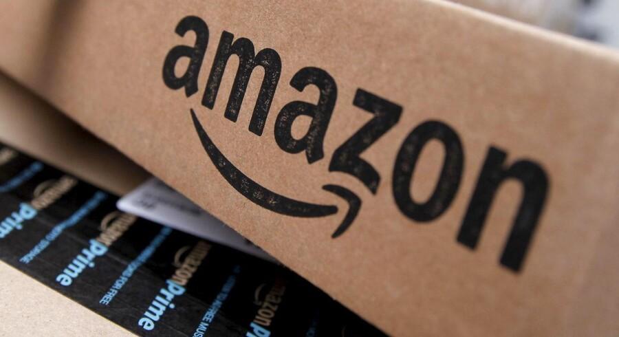 Arkivfoto: Amazon pakke.