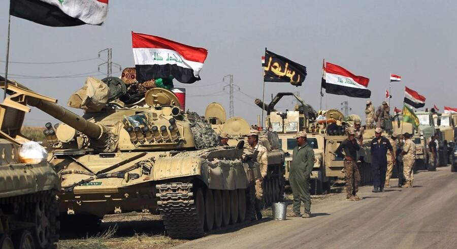 Den kurdiske regionalregering afviser, at irakiske styrker har erobret områder i Kirkuk-provinsen.