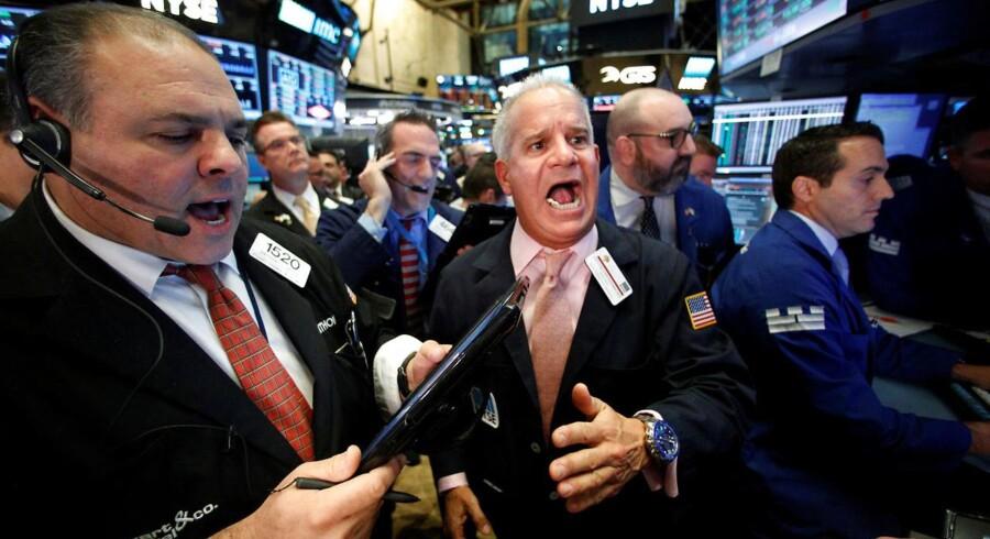Arkivfoto: New York Stock Exchange (NYSE).