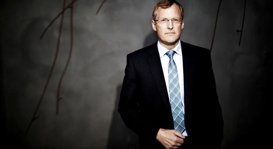 Steen Michael Erichsen er adm. direktør for Nordea Liv og Pension, der netop er kommet på kundernes hænder.