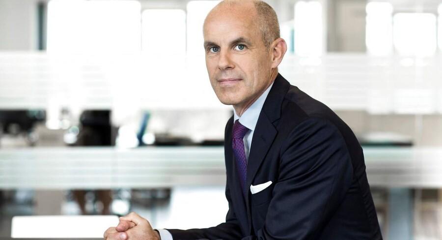 Jørgen Jensen, adm. direktør i Widex