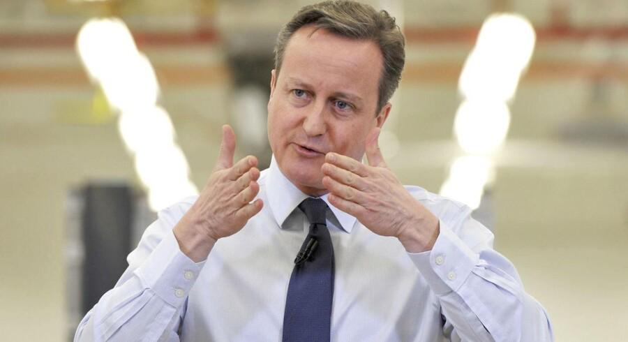 - Hvis aftalen går igennem, kan en folkeafstemning afholdes inden for et par måneder, siger David Cameron med henvisning til afstemningen om ja eller nej til fortsat britisk medlemskab af EU.