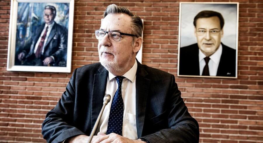 Arkivfoto af Ishøjs borgmester Ole Bjørstorp.