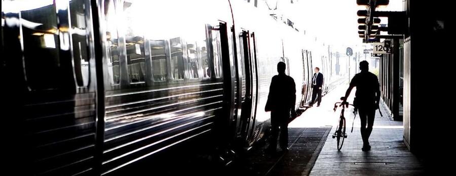 Arkivfoto: DSB oplyser på sin hjemmeside, at man forventer, at togene kører almindeligt igen omkring kl. 18.