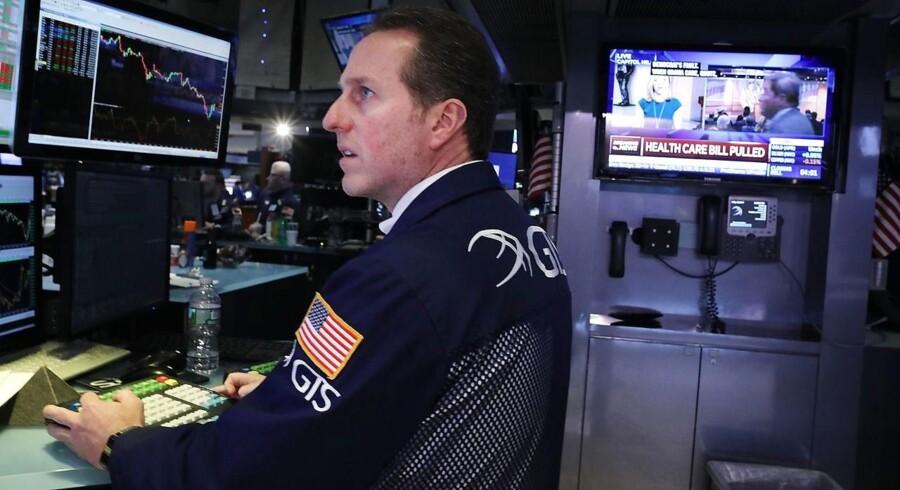 Arkivfoto. Europæiske aktier stiger til vejrs, men volatiliteten og usikkerheden følger med.