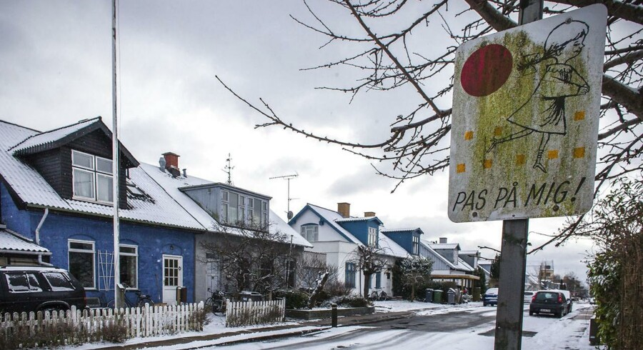 Genrebillede af villaer i et villakvarter i Brønshøj. Arkivfoto: Scanpix