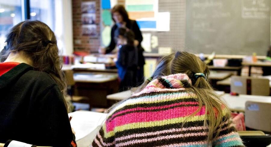 Debatten om elevsammensætningen på landets gymnasier og skoler generelt er blusset op, efter det er kommet frem, at et gymnasium i Aarhus har inddelt klasser efter elevernes etniske baggrund. ARKIVFOTO 2013.