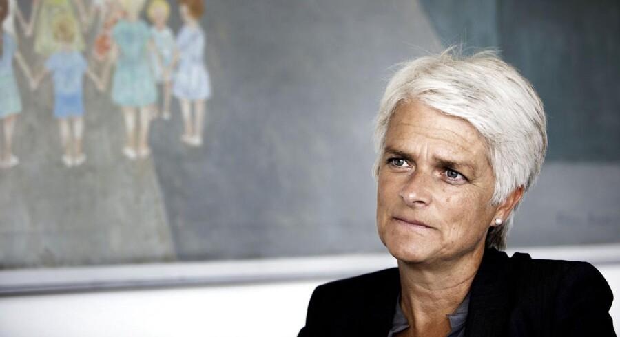 Annette Vilhelmsen er som formand for SF inde i en svær periode efter en historisk kommunalvalgslussing og en finanslov med et kraftigt blåt skær.