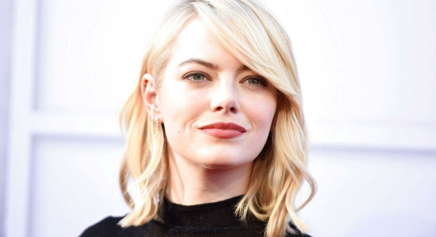 Arkivfoto. Den oscarvindende La La Land-stjerne Emma Stone topper Forbes' liste.