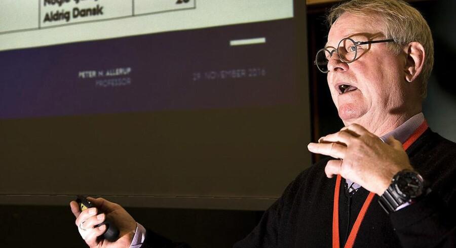 Peter Allerup fra Aarhus Universitet