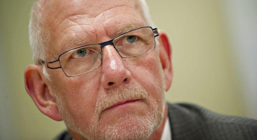 Tønder Banks tidligere direktør Mogens Mortensen.