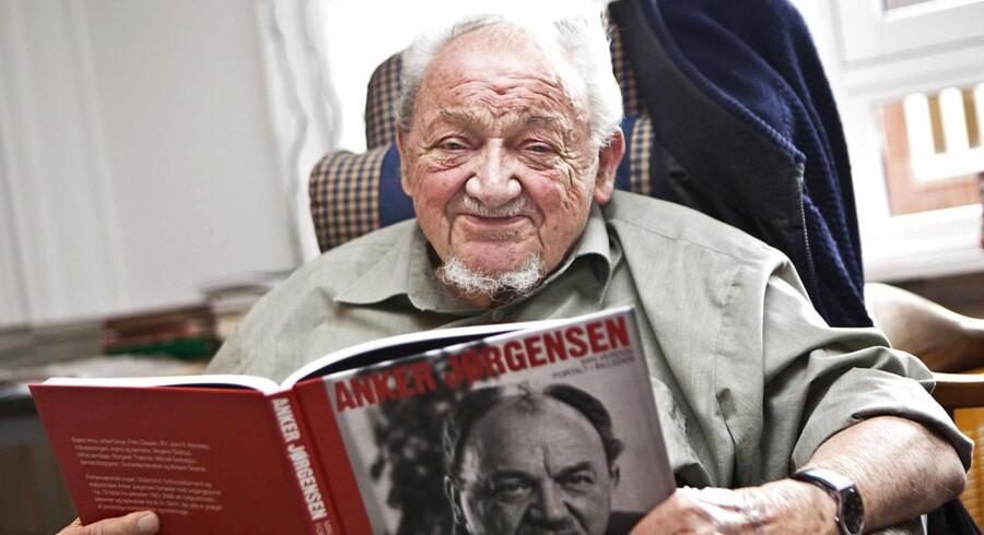 Tidligere statsminister (S) Anker Jørgensen.
