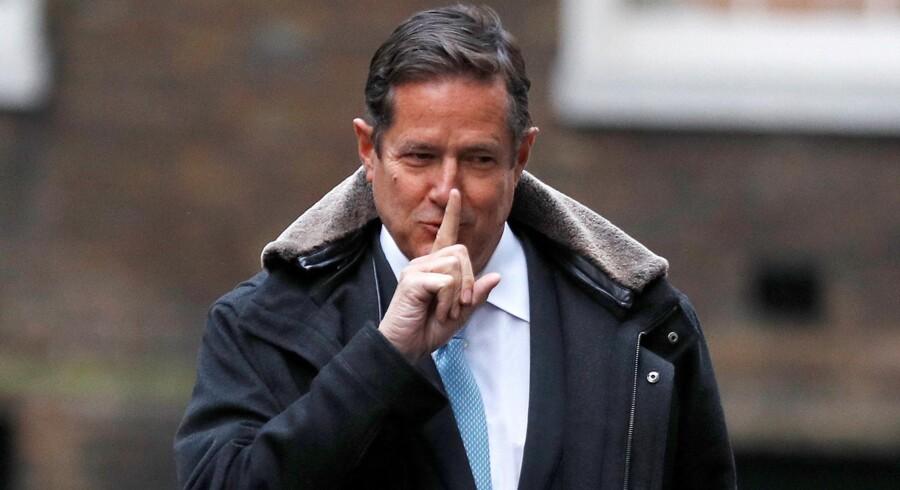 Barclays administrerende direktør, Jes Staley, står til at få en bøde, efter at han jagtede en whistleblower. Reuters/Peter Nicholls