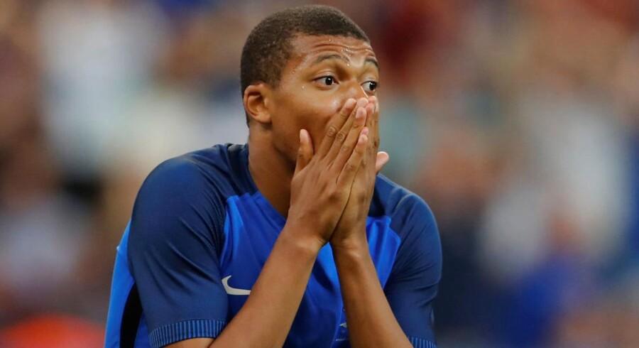 Hvem ved, måske kommer den franske fodboldkomet Kylian Mbappe og resten af Les Bleus til København i 2020.