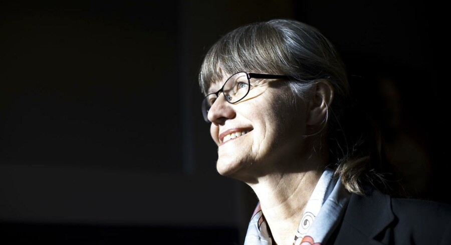 Professor Nina Smith. Foto: Jeppe Bjørn Vejlø/Scanpix 2015.