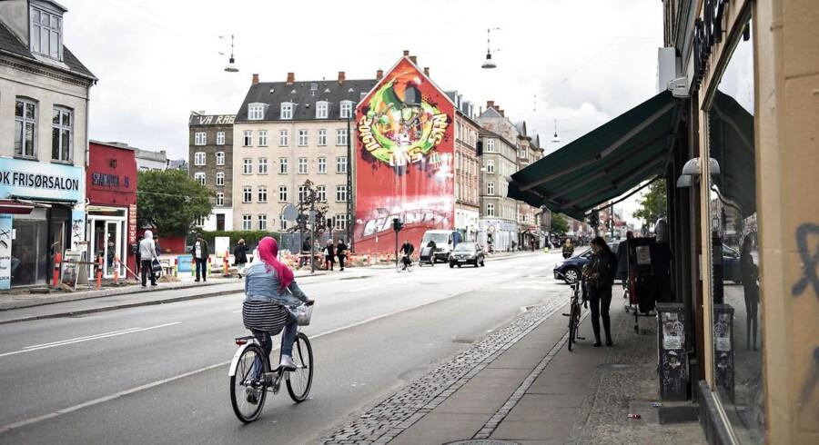ARKIVFOTO fra Nørrebrogade.